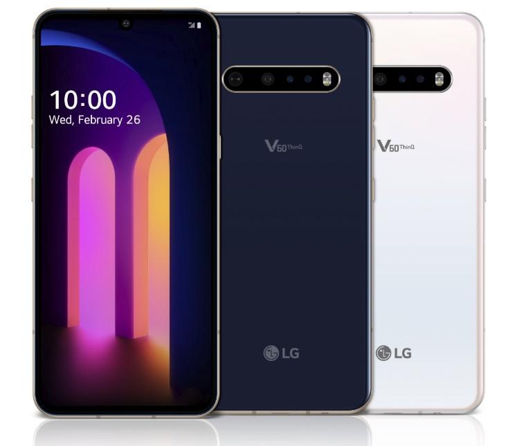 LG V60 ThinQ 5G (forse) ad aprile