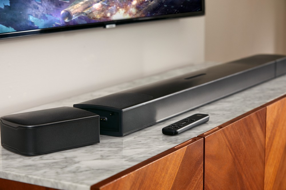 Soundbar JBL Bar 9.1: Dolby Atmos e DTS:X con speaker surround rimovibili