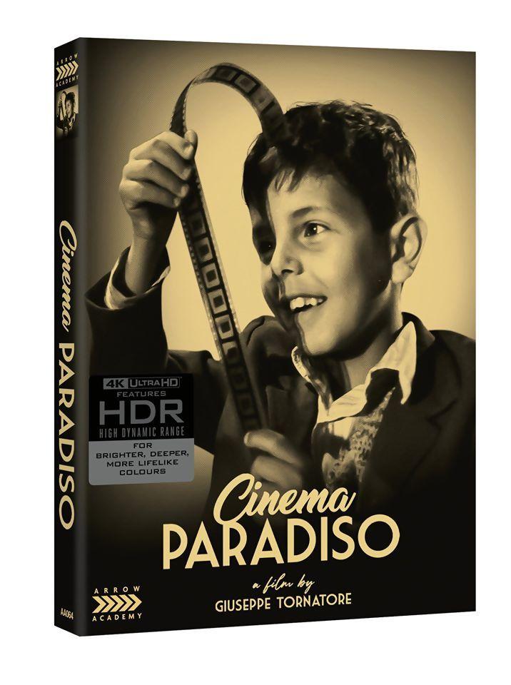 Nuovo Cinema Paradiso in 4K: ci pensa Arrow Academy