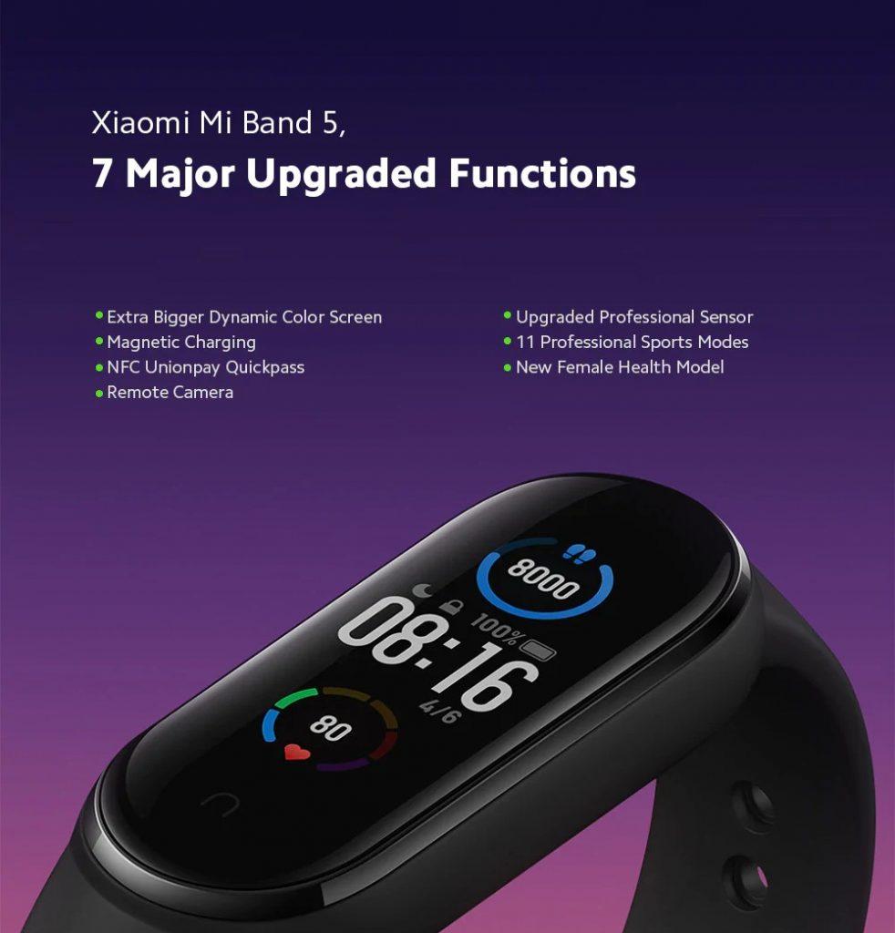 Xiaomi Mi Band 5 ufficiale: arriverà a luglio