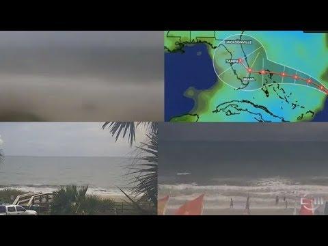 بث مباشر #اعصار_دوريان  تغطية حية فلوريدا #دوریان
