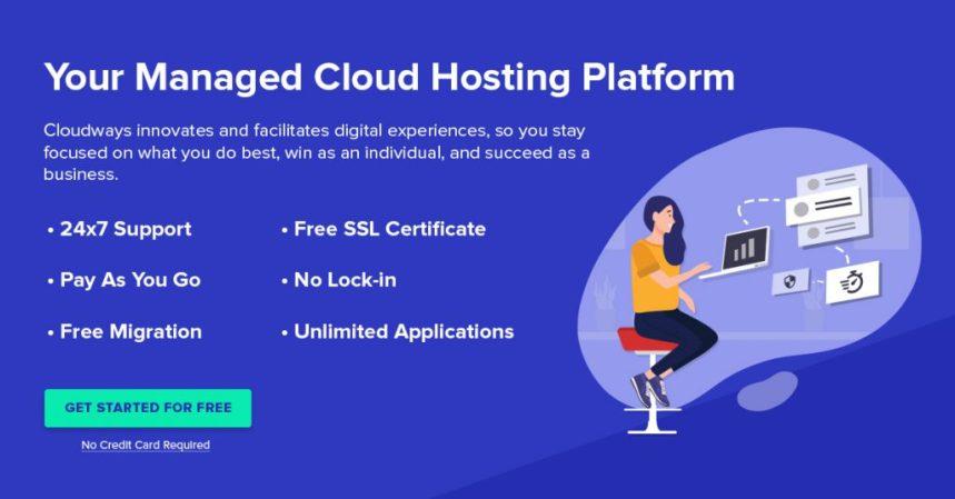 شرح شركة استضافة Cloudways