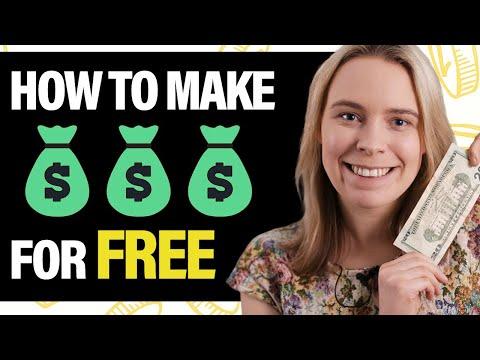 5 FREE Ways To Make Money Online If You're BROKE