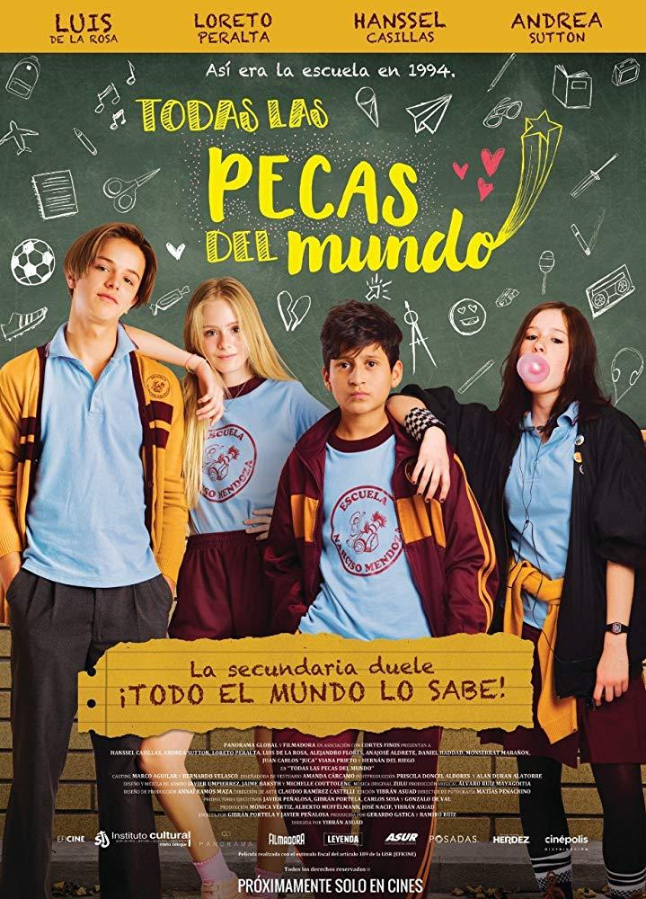 فيلم الكوميديا المكسيكي All the Freckles in the World 2019