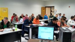 CPMM Review Class, December 2013 at Fort Bragg.