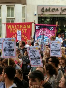 Lee más sobre el artículo Comunicado en Solidaridad con los Habitantes de la Torre Grenfell en Londres