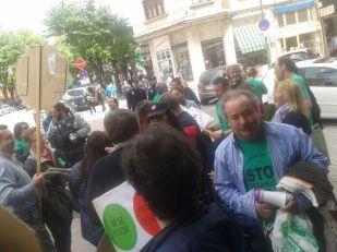 Ocupación Caja España