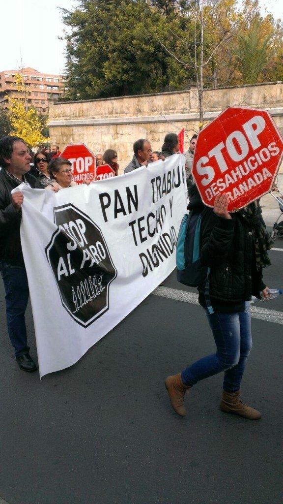 Semana Movilizaciones - Stop Desahucios Granada 15m14