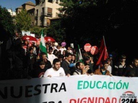 Marchas por la dignidad 22 Octubre