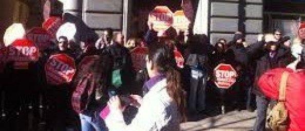 Stop Desahucios Granada 15M, sale a la calle