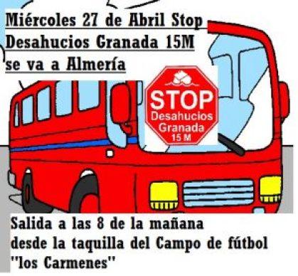 Autobús hacia Almería