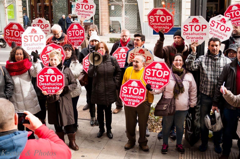 Acción Stop Desahucios