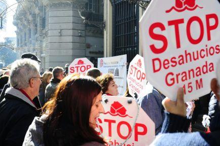 Luchas populares. Stop Desahucios Granada 15M
