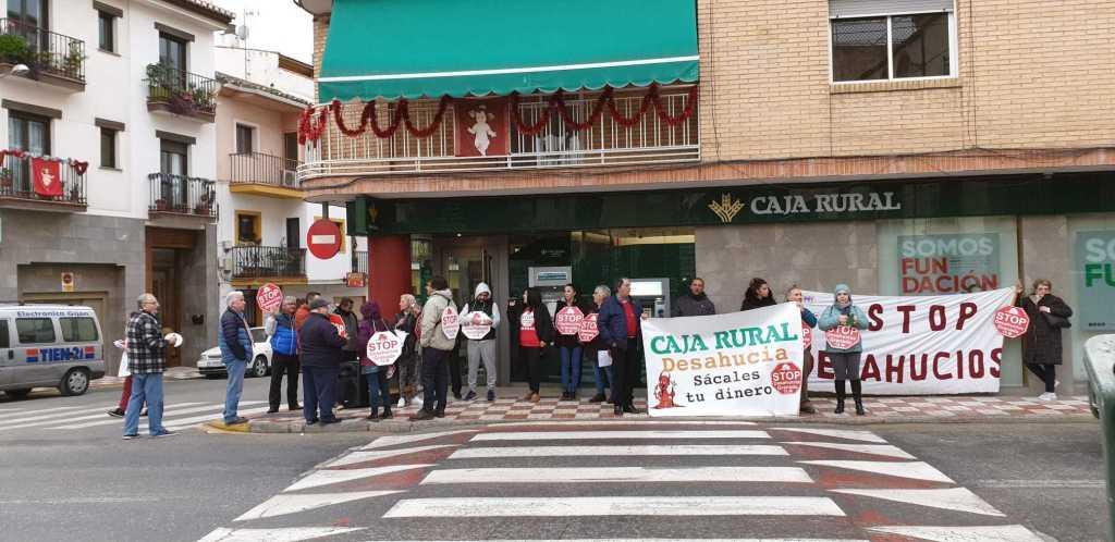 Caja Rural emprende desahucios