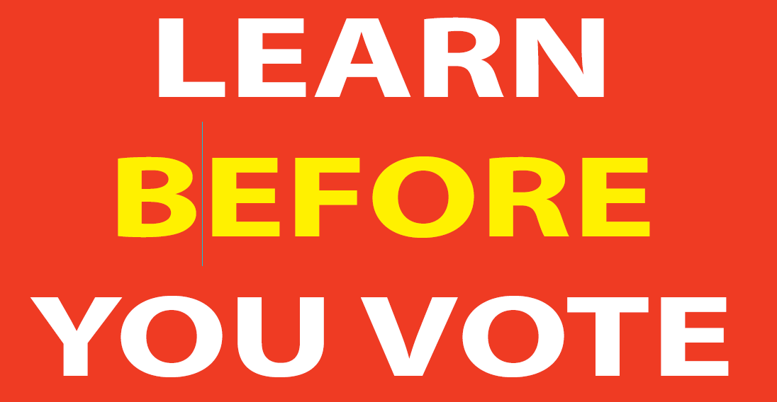 learn before you vote