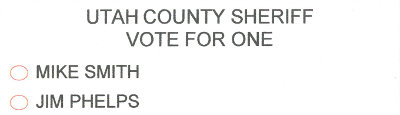 Utah County Sheriff