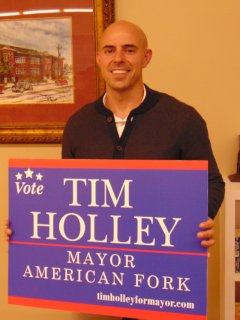 Tim Holley - American Fork Election