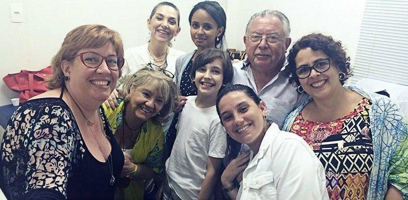 Primeiro encontro do grupo no Rio de Janeiro