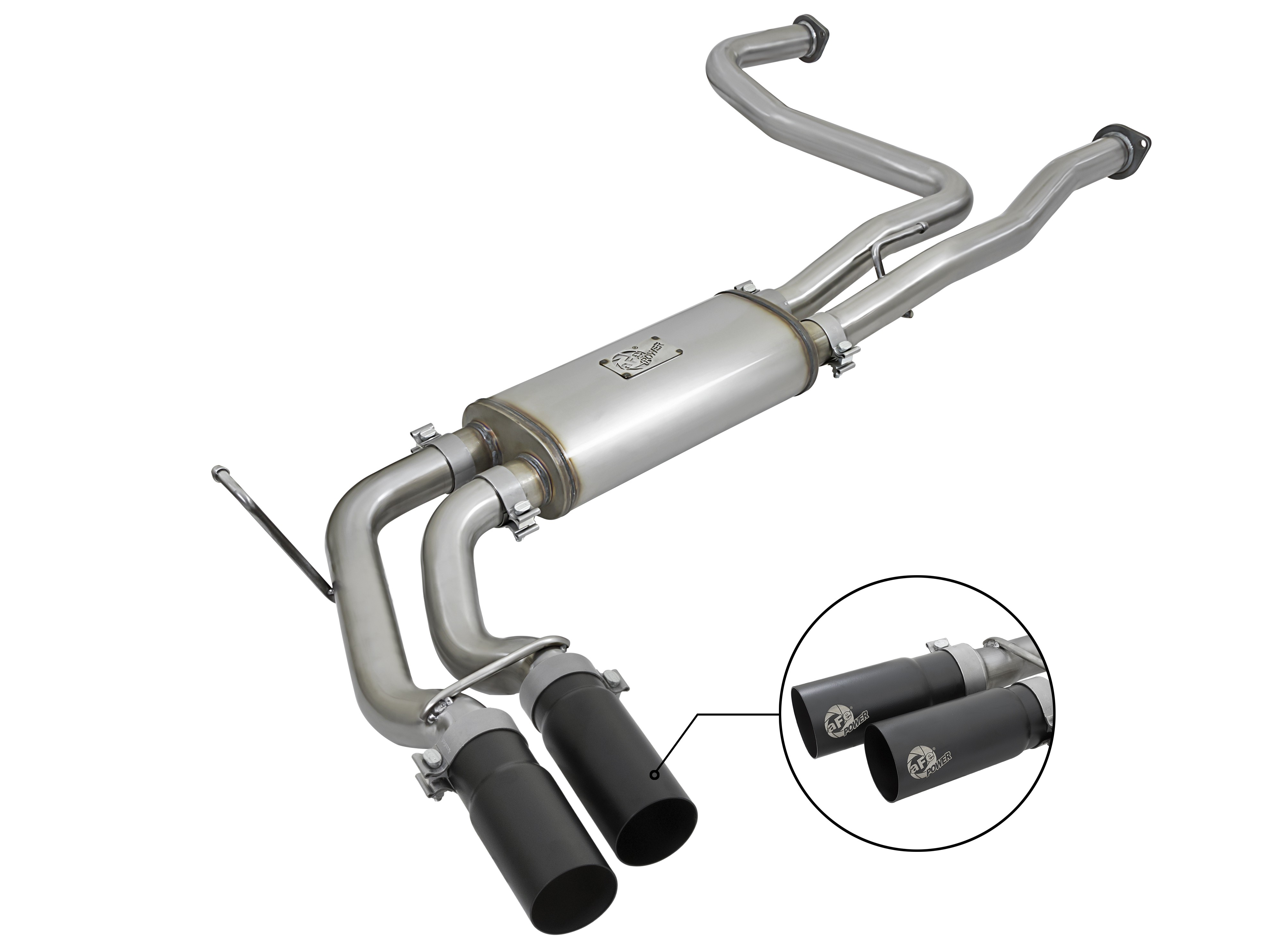 rebel series 2 1 2 409 stainless steel cat back exhaust system