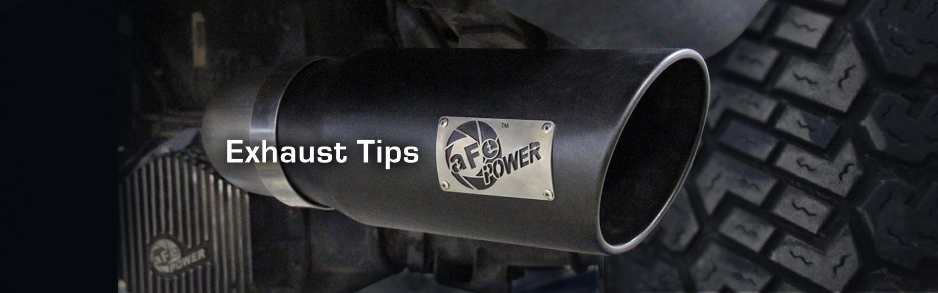 exhaust tips universal diesel gas