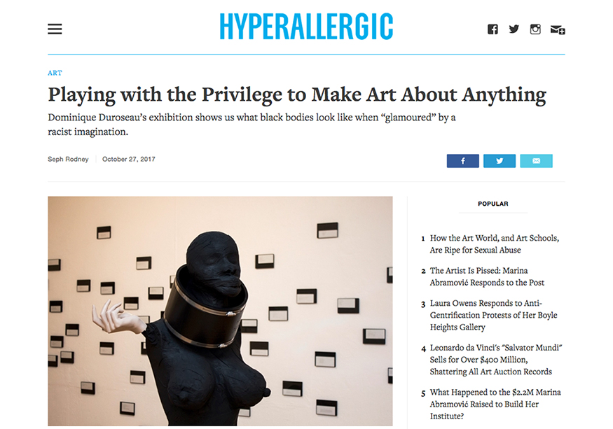 Duroseau Hyperallergic Article Small