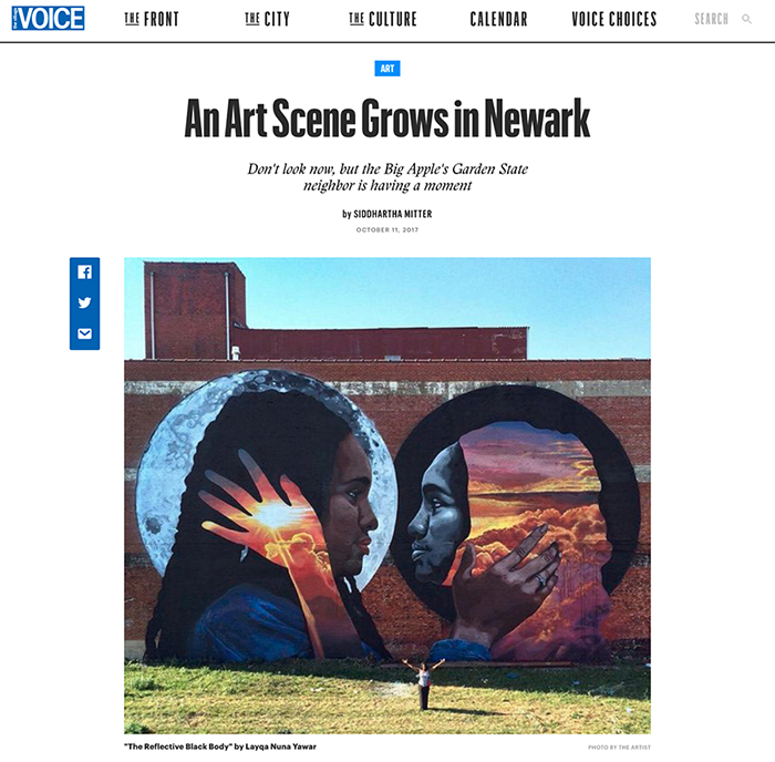Village Voice Art Scene in Newark Article Small
