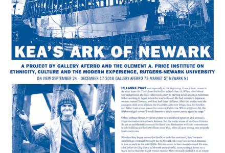 "Aferro Publication No. 27. ""Kea's Ark of Newark"""