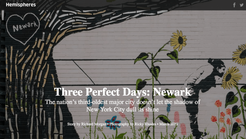 Three Perfect Days - Newark