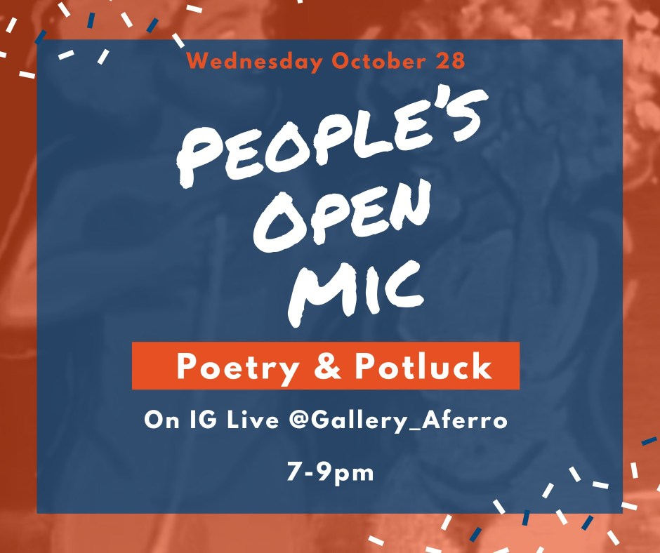 Peoples Open Mic -- Oct 2020