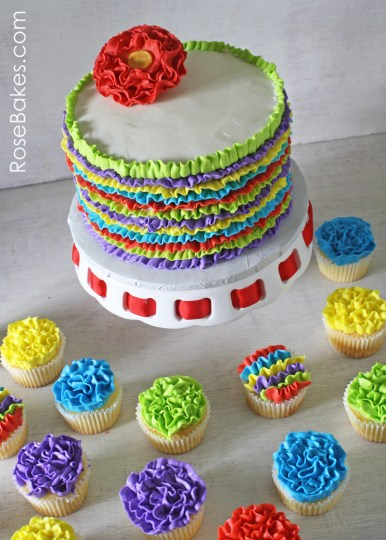 Fiesta-Ruffles-Cake-and-Ruffles-Cupcakes