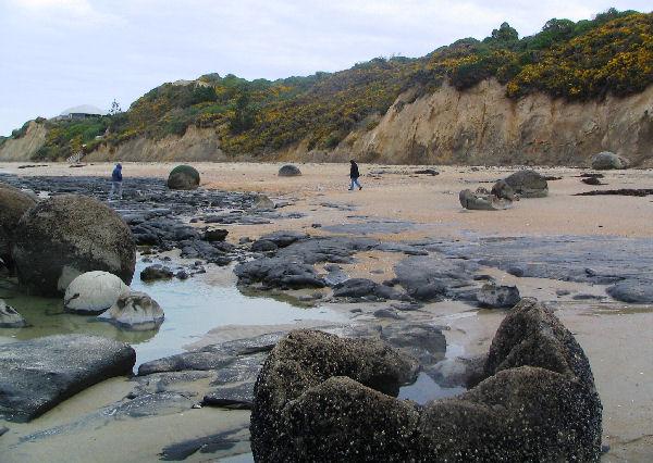 Moeraki Boulders - let go