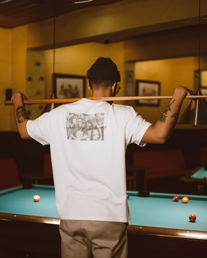 """Afew Goods Made by Culture Tee """"White"""""""