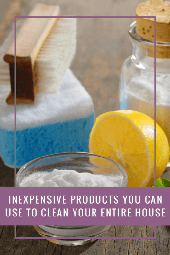 Inexpensive Products You Can Use To Clean Your Entire House - A Few Favourite Things