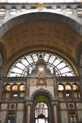 You have to love a city where the most spectacular building is a transit center, not a church. The Antwerp one is really a children's book dream of train-station-ness. (And Belgian Rail was pretty eye-opening for this monthly Amtrak user.)