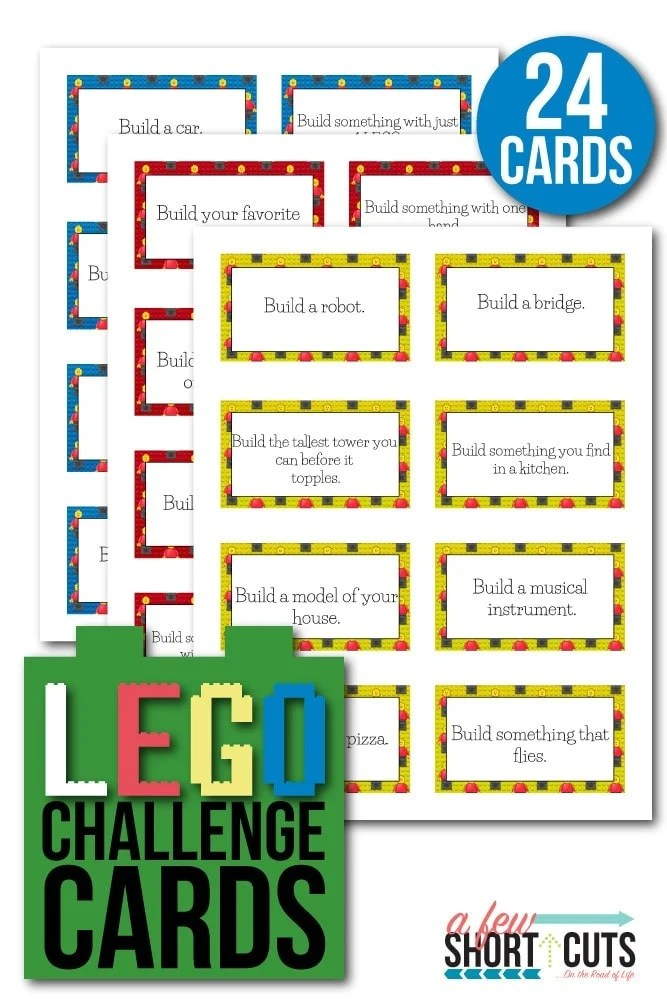 Image result for lego challenge cards