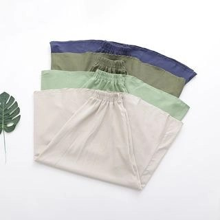 SILHO Elastic Waist A-Line Maxi Skirt