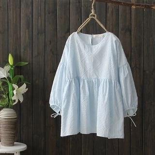 Angel Love Plain 3/4 Sleeve Blouse