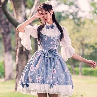 Nuwa 3/4-Sleeve A-line Lolita Dress