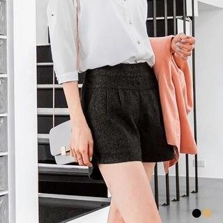 OrangeBear Pleated Shorts