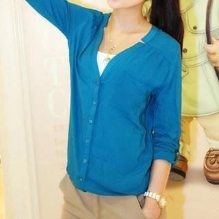 Neeya Long-Sleeve Blouse