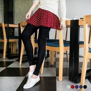 OrangeBear Inset Skirt Leggings