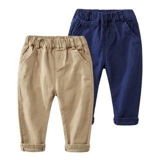 DEARIE Kids Elastic Waist Pants N/A