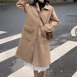 MAVE Buttoned Coat