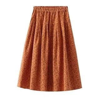 SILHO Midi A-Line Skirt