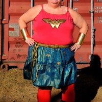 D.I.Y. Plus Size 26 or 4X Wonder Woman Costume