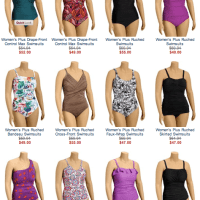 Old Navy Plus Size Bathing Suits - Size 4X