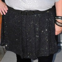 Review of Sparkle Skirt from ASOS Curve