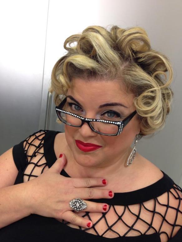 Hair: Manifesta Salon, Oakland Glasses: Phoenix Eyeware Ring: In Full Swing Makeup: MAC