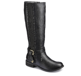 Simply Be Legroom Boot - An EXTRA Wide Calf with an Elastic Gusset