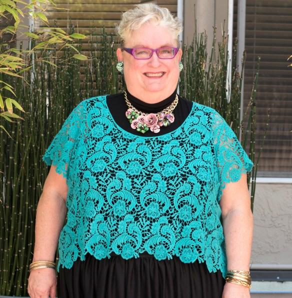 torrid crochet top size 4 original size LG